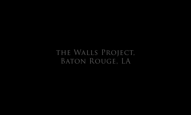The Walls Project, Baton Rouge, LA title page, and link to: public art: The Walls Project1